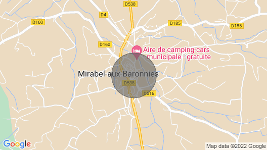 PROMOTION RURAL GITE LOU BARRY Map
