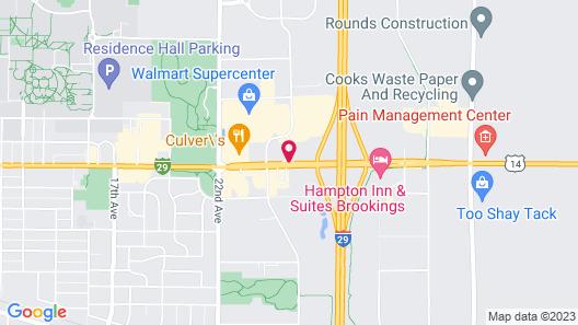 Brookings Inn Map