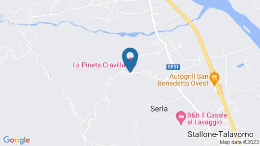 Park Hotel La Pineta Map