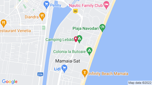 Marina Bay Boutique Hotel Map