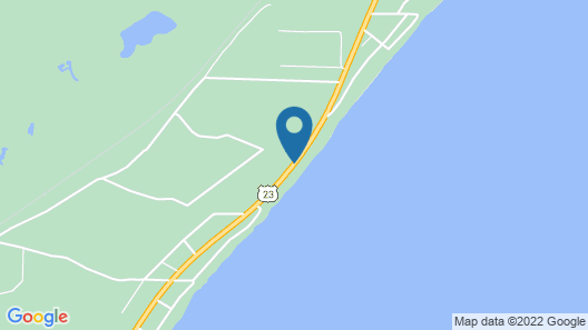 Lovely Lake Huron Property Conveniently Located Between East Tawas And Oscoda An Map