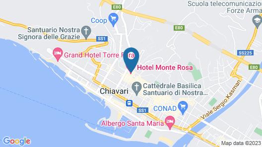 Hotel Monte Rosa Map
