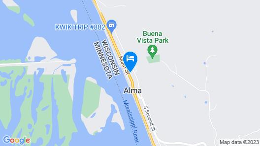 River View Apartment, INN At Big River Theatre Map