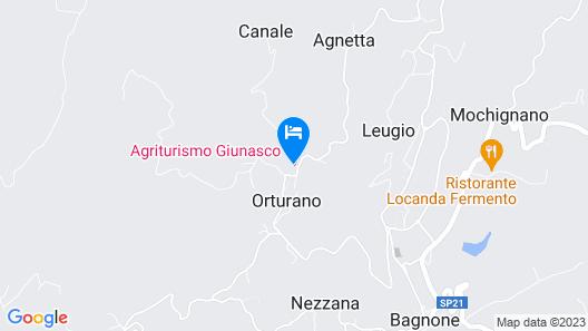 Fattoria Giunasco Map