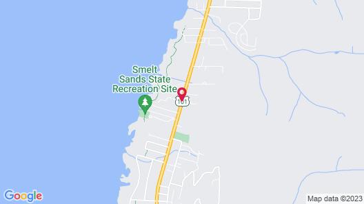 Fireside Motel Map