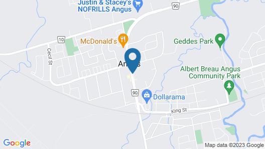 Angus Inn Map