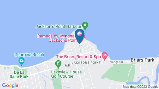 Ramada by Wyndham Jacksons Point Map
