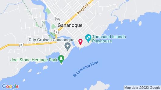 Gananoque Inn & Spa Map