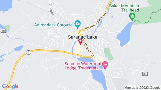 Hotel Saranac Curio Collection By Hilton Map