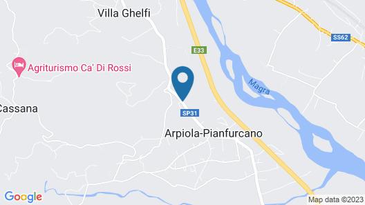 Azienda Agrituristica Ca' del Bosco Map
