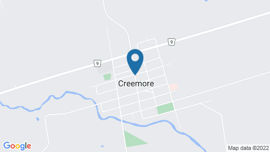Creemore House Inn Map