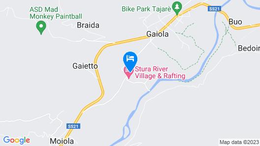 Stura River Village Map