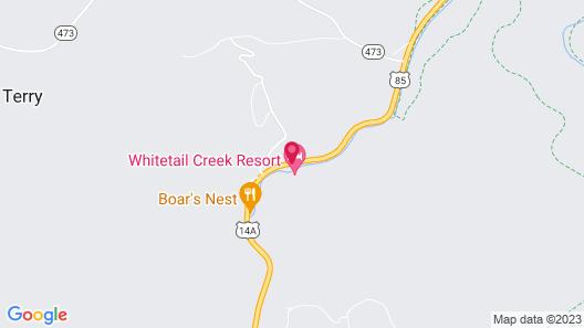 Whitetail Creek Resort Map