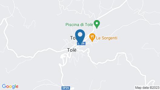 Hotel Falco d'Oro Map