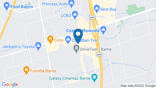 Holiday Inn Express Hotel & Suites Barrie, an IHG Hotel Map