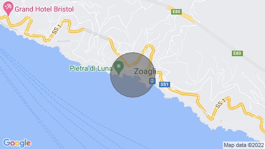 House IN THE Presses OF Portofino, Wonderful View, Map