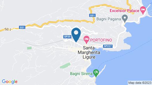 LHP Suite Santa Margherita Map