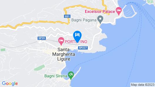 Villa Gelsomino Seaside Luxury House Map