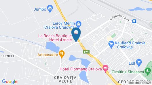 La Rocca Hotel Boutique Map
