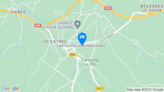 La Tour d'Olympe Map