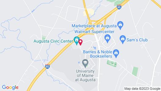 Best Western Plus Augusta Civic Center Inn Map