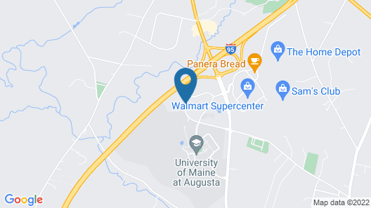 Best Western Plus Augusta Civic Center Inn Map