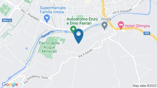 Albergo Ristorante La Perla Map