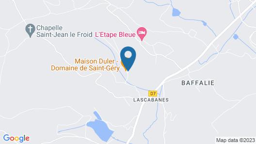 Domaine de Saint-Géry Map