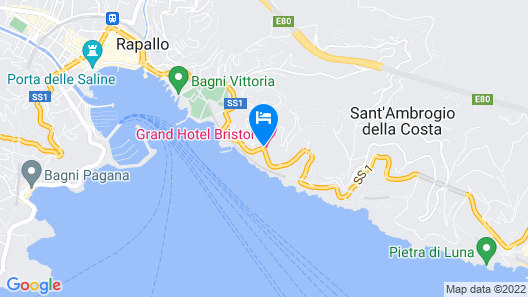 Grand Hotel Bristol Resort & Spa, by R Collection Hotels Map