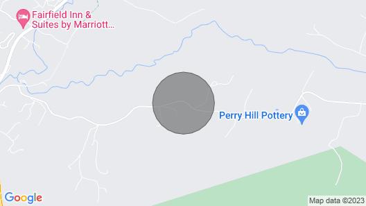 Large, Comfortable, Retro 1970s Hillside Chalet Map