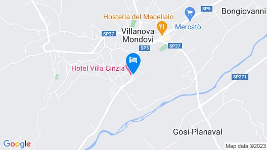 Hotel Villa Cinzia Map