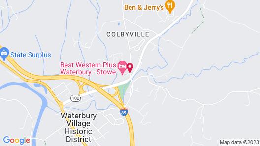 Best Western Plus Waterbury - Stowe Map