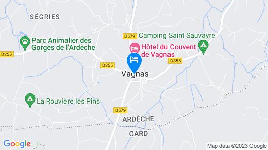 Le Mas D'Alzon Chambres d'hôtes Map