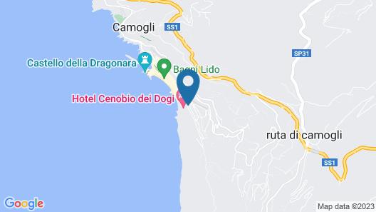 Hotel Cenobio Dei Dogi Map