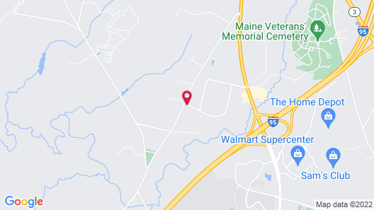 Fairfield Inn & Suites by Marriott Augusta Map