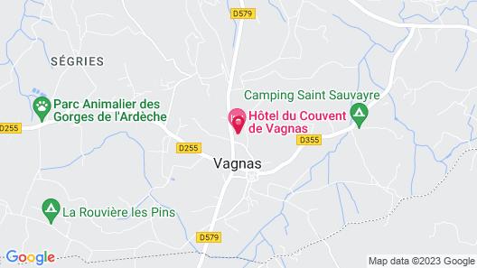 Hôtel du Couvent Map