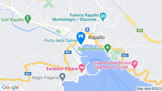 Best Western Plus Tigullio Royal Hotel Map