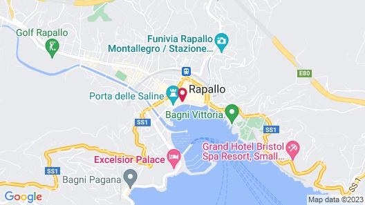 Hotel Vesuvio Map