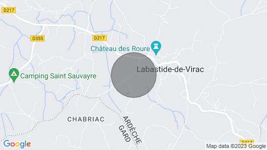 House / Villa - Labastide de Virac Map