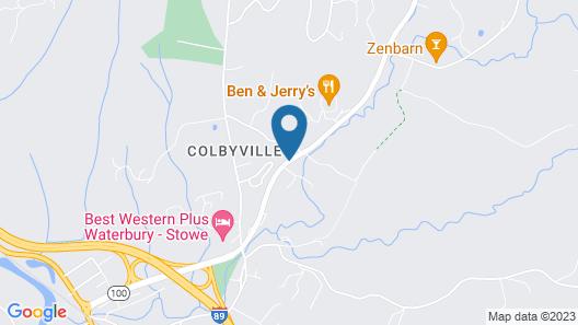 Fairfield Inn & Suites by Marriott Waterbury Stowe Map