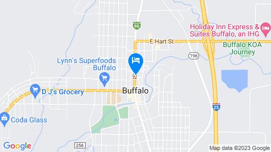 Big Horn Motel Map
