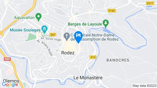Appartement Plein Centre la Bulliere Map