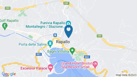 Villa Erika Map