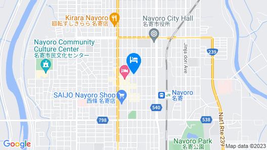 OYO Hotel Bird Inn Nayoro Map