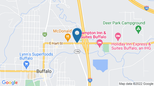 Super 8 by Wyndham Buffalo Map