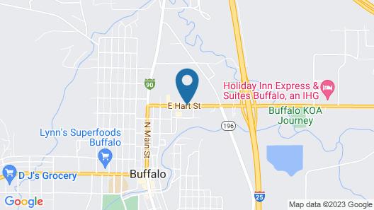 Days Inn by Wyndham Buffalo WY Map