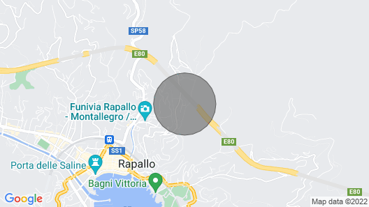 Charming villa in Rapallo, special X-MAS and NEW YEAR OFFER Map