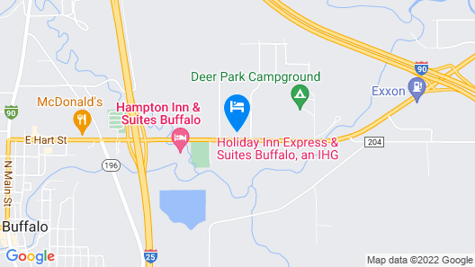 Holiday Inn Express & Suites Buffalo, an IHG Hotel Map