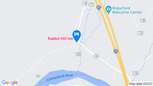 Rabbit Hill Inn Map