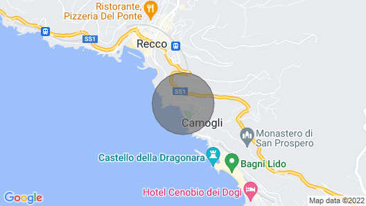 1 Bedroom Accommodation in Recco -ge- Map